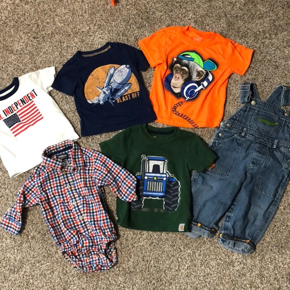 Carter's Other - 12M Baby Boy Bundle